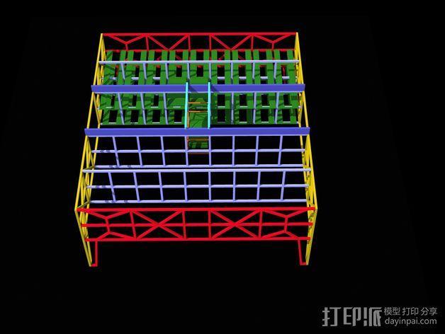 车间构架模型 3D模型  图20