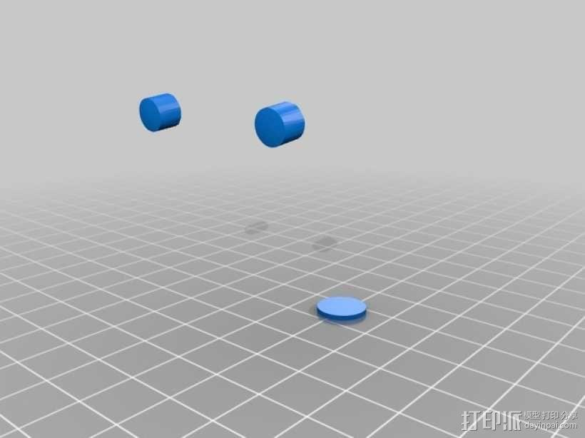 终结者头骨 3D模型  图2