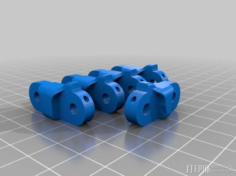 假肢 手  3D模型  图2