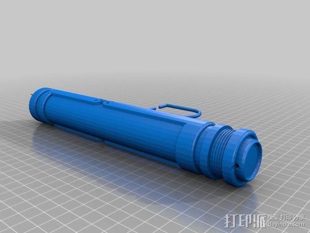 光剑 能量剑 3D模型  图2