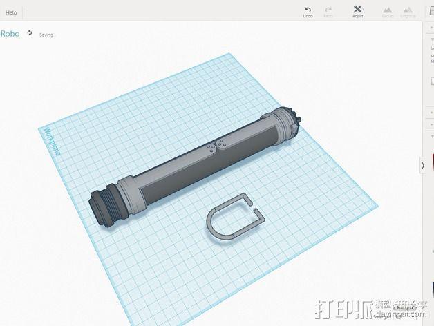 光剑 能量剑 3D模型  图3