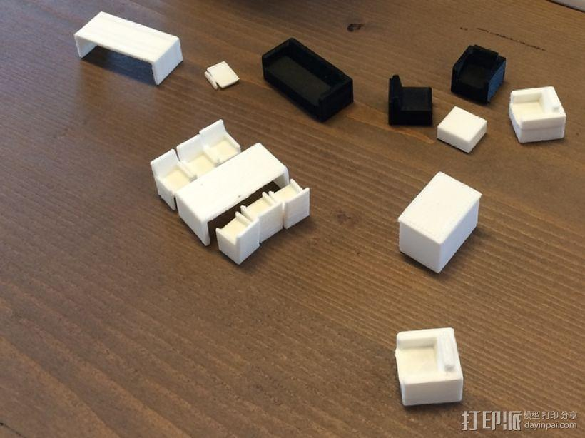 家具 3D模型  图1