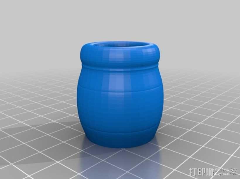 小熊维尼 3D模型  图2