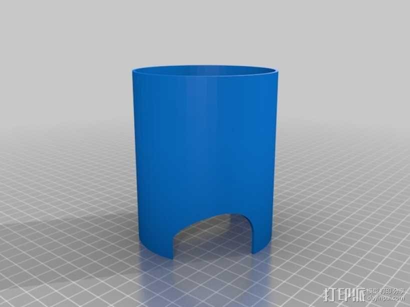 螺旋楼梯 3D模型  图3
