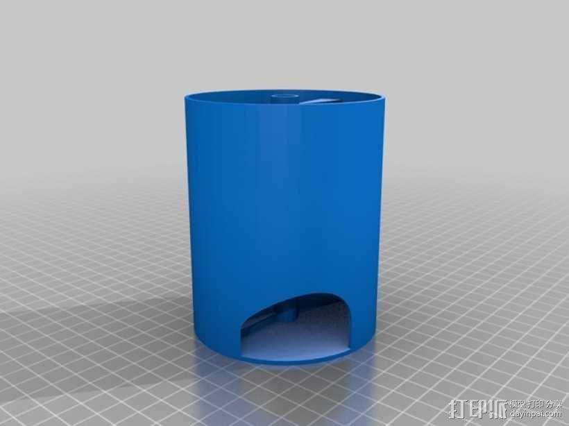 螺旋楼梯 3D模型  图4
