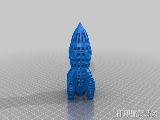 制动火箭 3D模型  图4