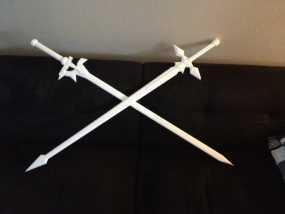 逐暗者长剑 3D模型