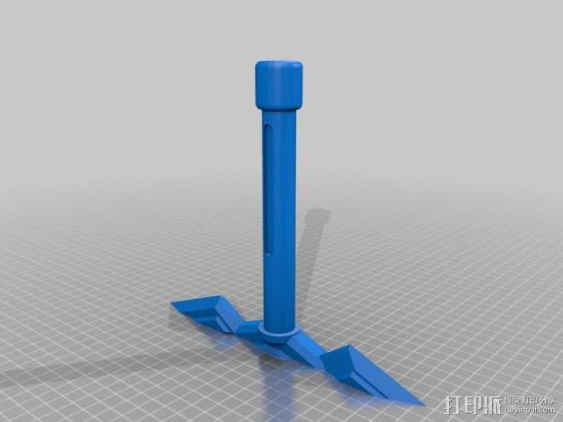 逐暗者长剑 3D模型  图3