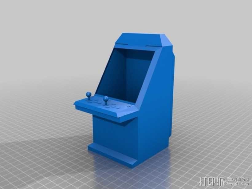 Sega Aero City街机模型 3D模型  图2