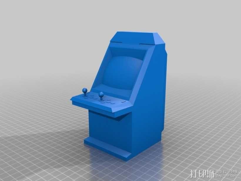 Sega Aero City街机模型 3D模型  图1