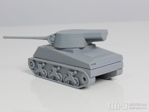 坦克 3D模型  图3