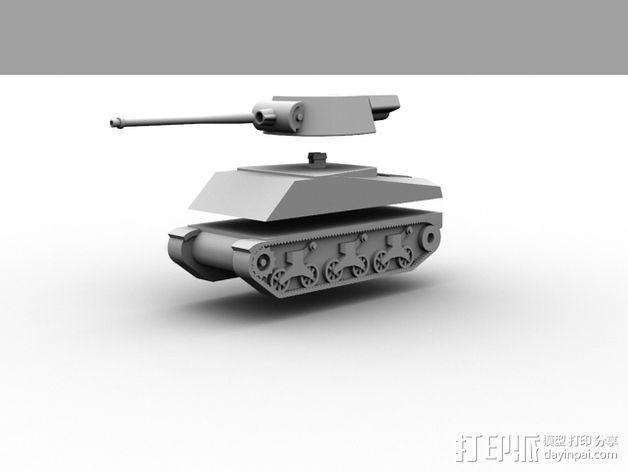 坦克 3D模型  图4