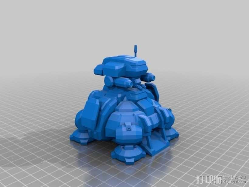 星际争霸指挥中心模型 3D模型  图1