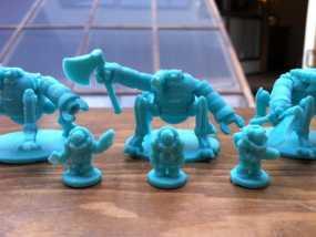 Dwarven Mech机械矮人 3D模型
