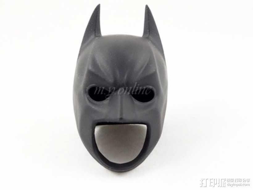 蝙蝠侠头盔 3D模型  图1