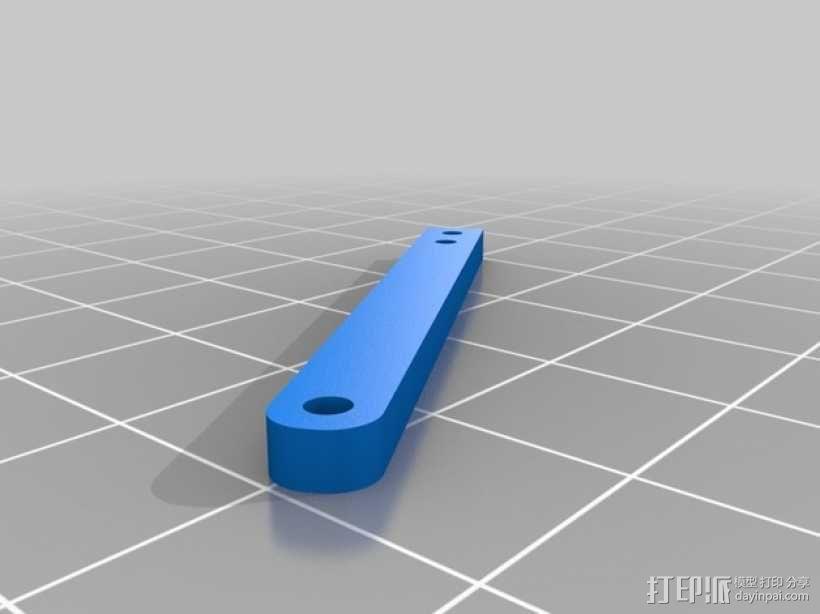 金刚狼爪  3D模型  图4