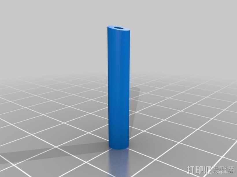 金刚狼爪  3D模型  图5