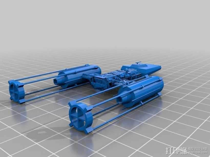 Y翼轰炸机 3D模型  图1