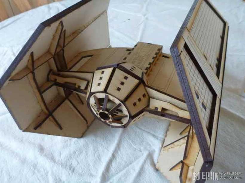 达斯维德的钛战机 3D模型  图1