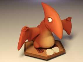 游戏人物玩偶 3D模型
