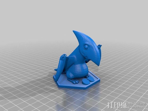 游戏人物玩偶 3D模型  图2
