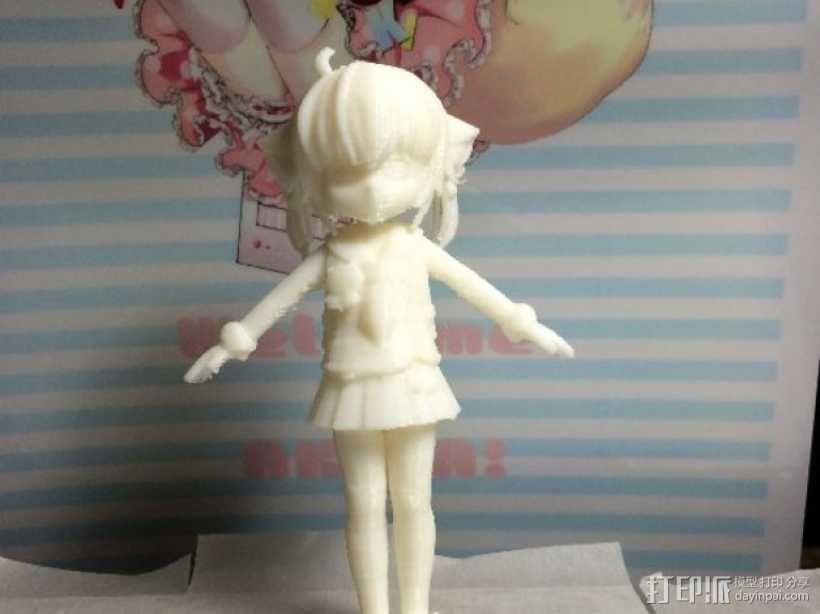 狐娘绀子 3D模型  图3