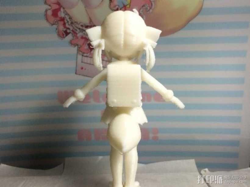 狐娘绀子 3D模型  图4