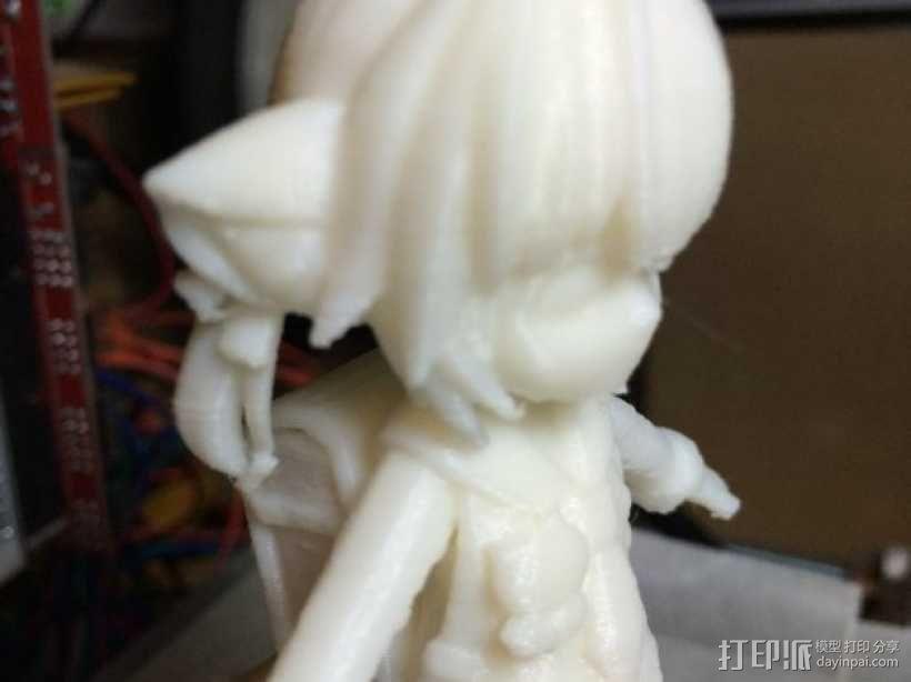 狐娘绀子 3D模型  图5