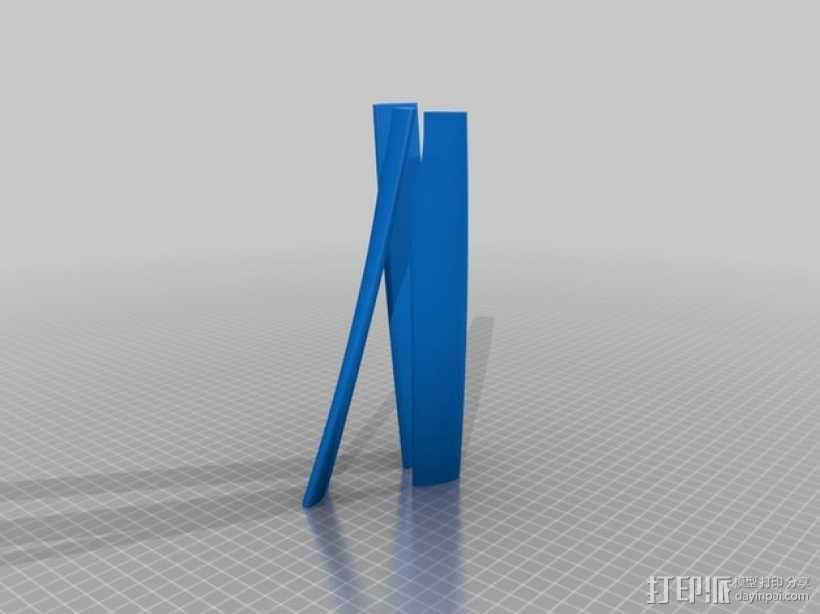 滑翔机模型 3D模型  图2