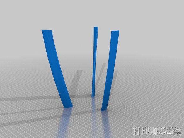 滑翔机模型 3D模型  图5