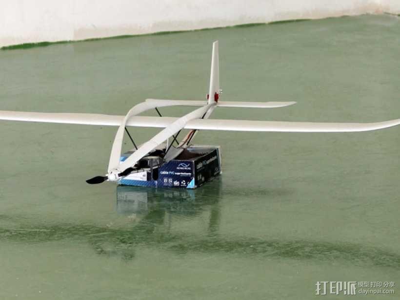 滑翔机模型 3D模型  图4
