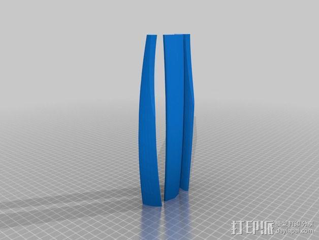 滑翔机模型 3D模型  图3