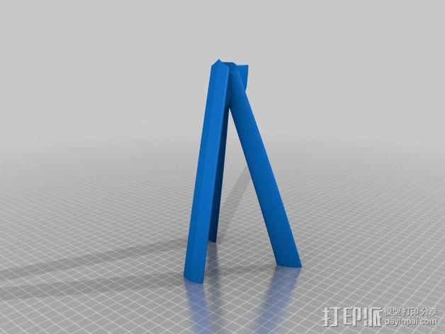 滑翔机模型 3D模型  图7