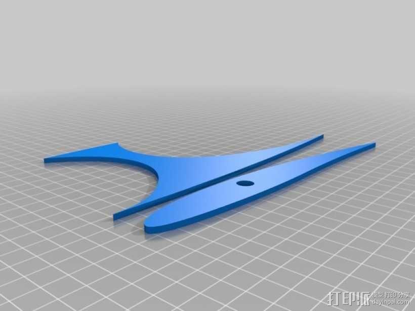 滑翔机模型 3D模型  图16