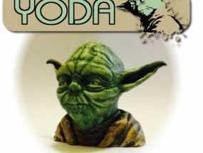 尤达大师半身像 3D模型