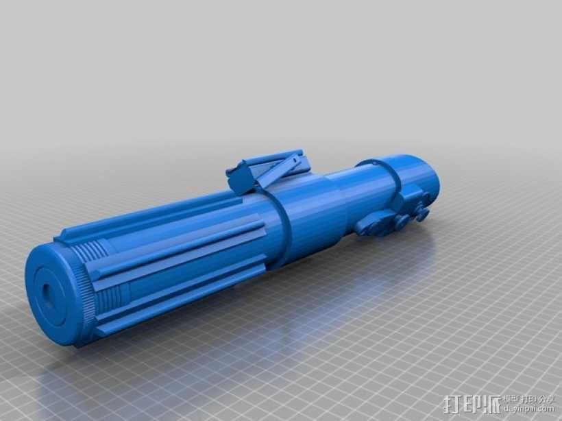 达斯维德的光剑 3D模型  图2