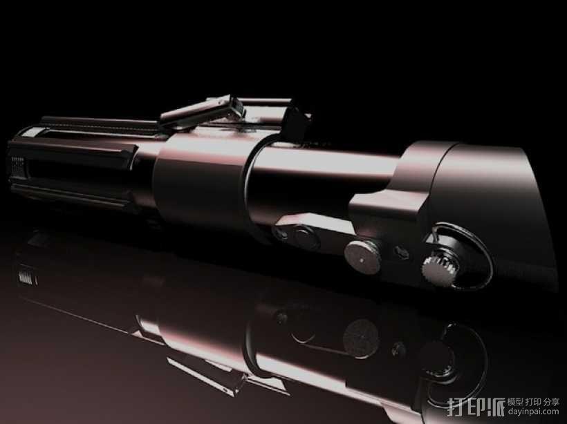 达斯维德的光剑 3D模型  图1