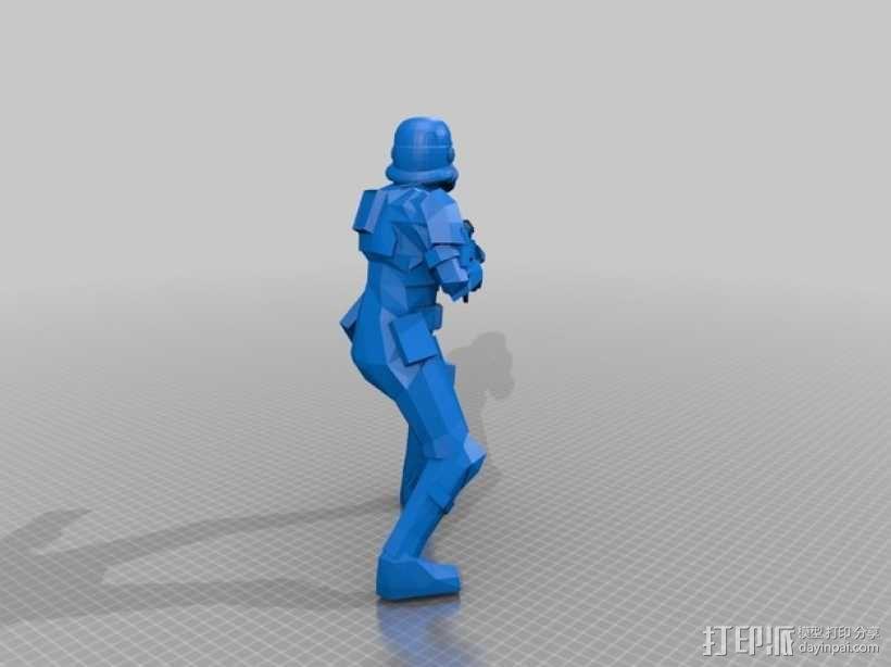 风暴装甲兵 3D模型  图1