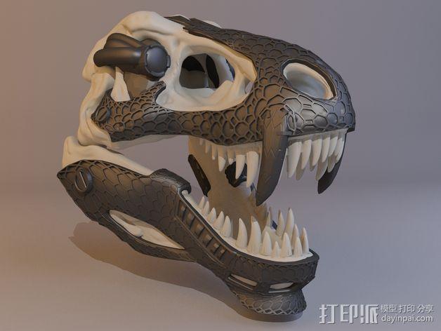 霸王龙头骨 3D模型  图6