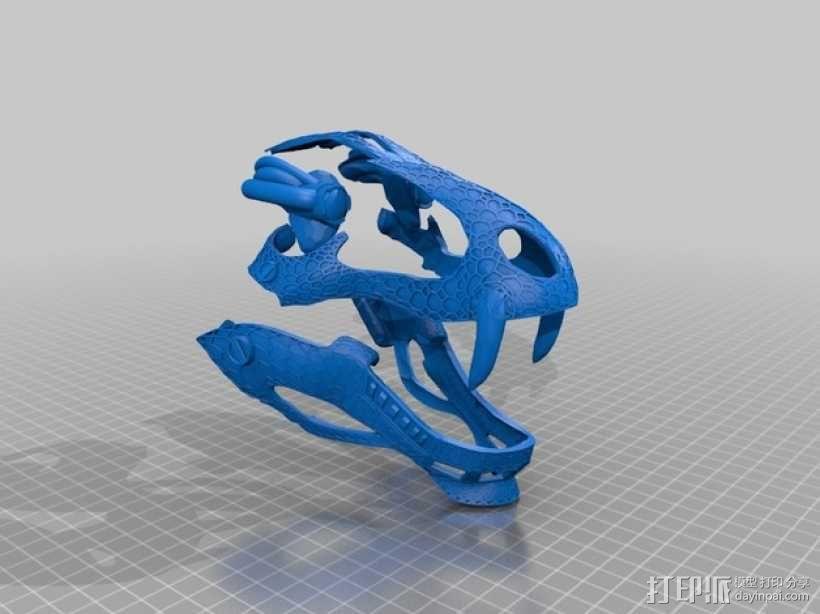 霸王龙头骨 3D模型  图9