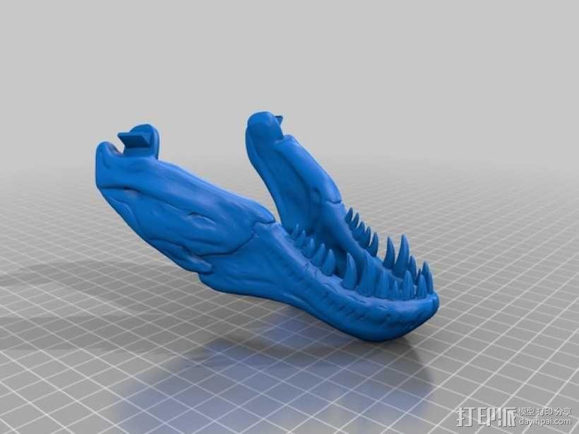 霸王龙头骨 3D模型  图12