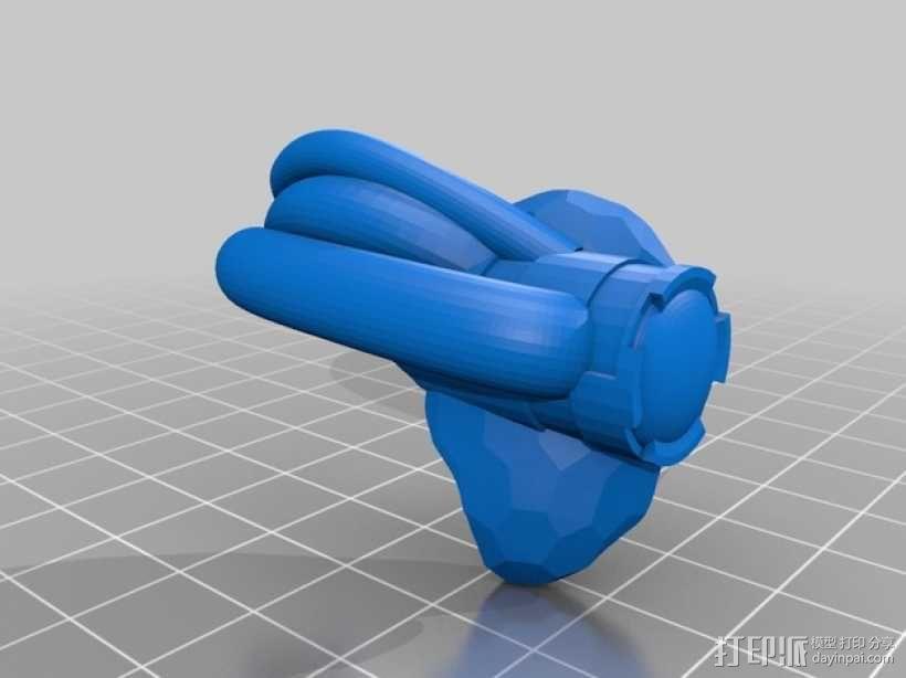 霸王龙头骨 3D模型  图17