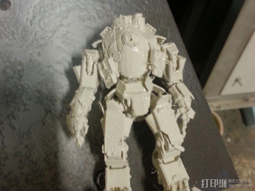 机械人泰坦 3D模型  图1