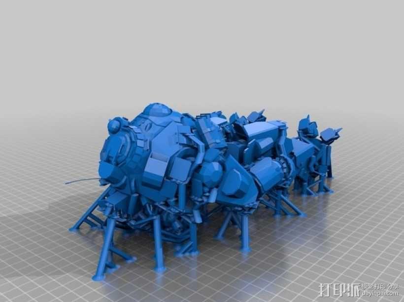 机械人泰坦 3D模型  图2