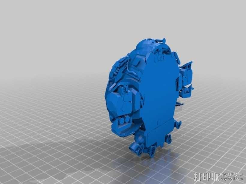 机械人泰坦 3D模型  图3
