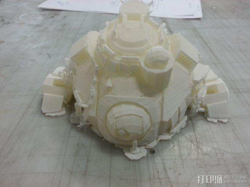 机械人泰坦 3D模型  图4