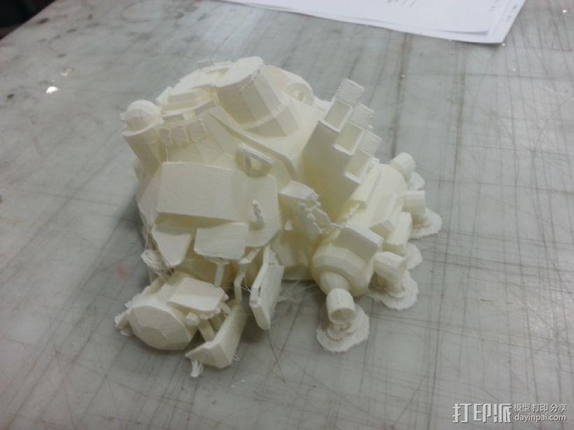 机械人泰坦 3D模型  图5