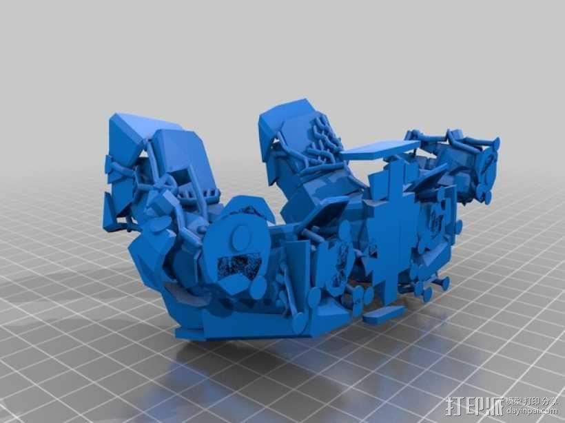机械人泰坦 3D模型  图6