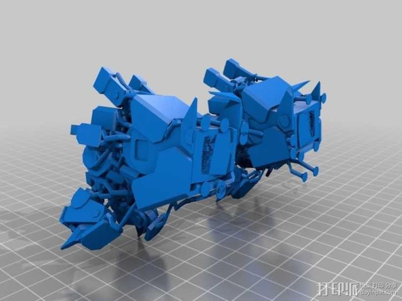 机械人泰坦 3D模型  图7