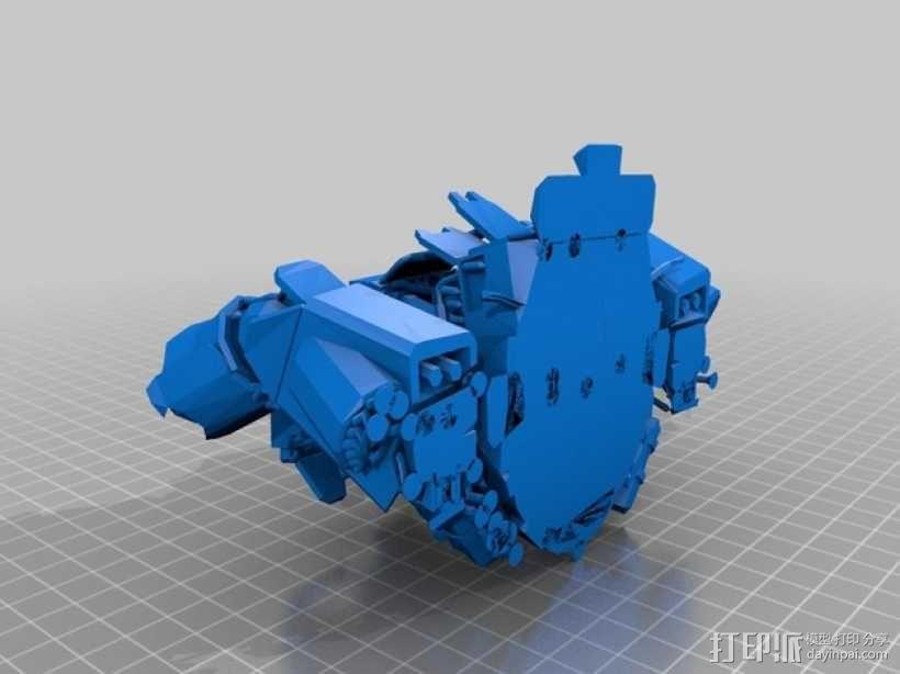 机械人泰坦 3D模型  图8